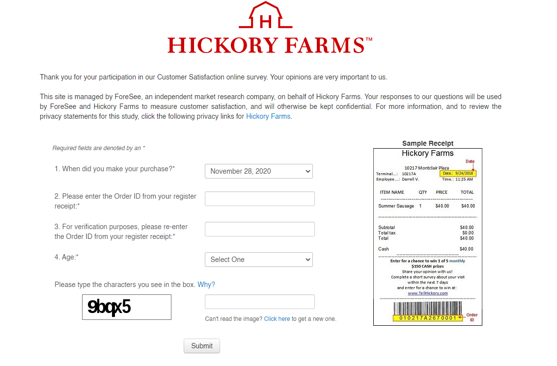 Hickory-Farms-Survey-and-Sweepstakes