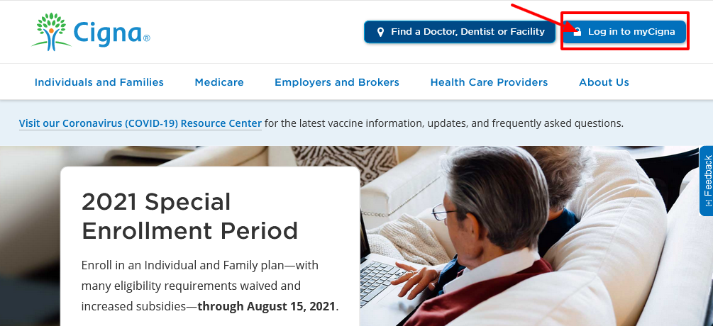 how to pay cigna bill online